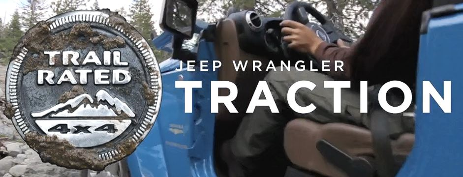 Trail Rated | Jeep Wrangler JK Traction (Grip)